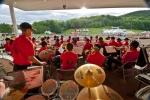 Commémoration des jeux olympiques au Parc équestre olympique