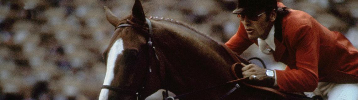 JO Montréal 1976, Sports équestres / Saut d'obstacles, par équipe Mixte - Michel VAILLANCOURT (CAN) et BRANCH COUNTY.