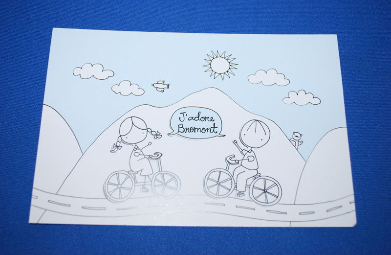 Carte postale J'adore Bromont